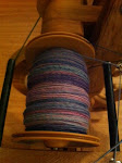 Spinning up some alpaca single