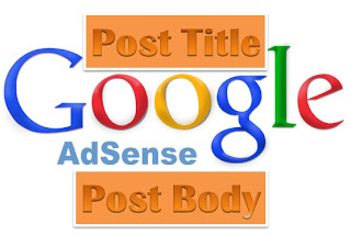 Google Adsense Ads Code Below Post Title in Blogger