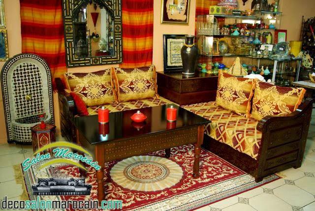 Shopping salon marocain 2015