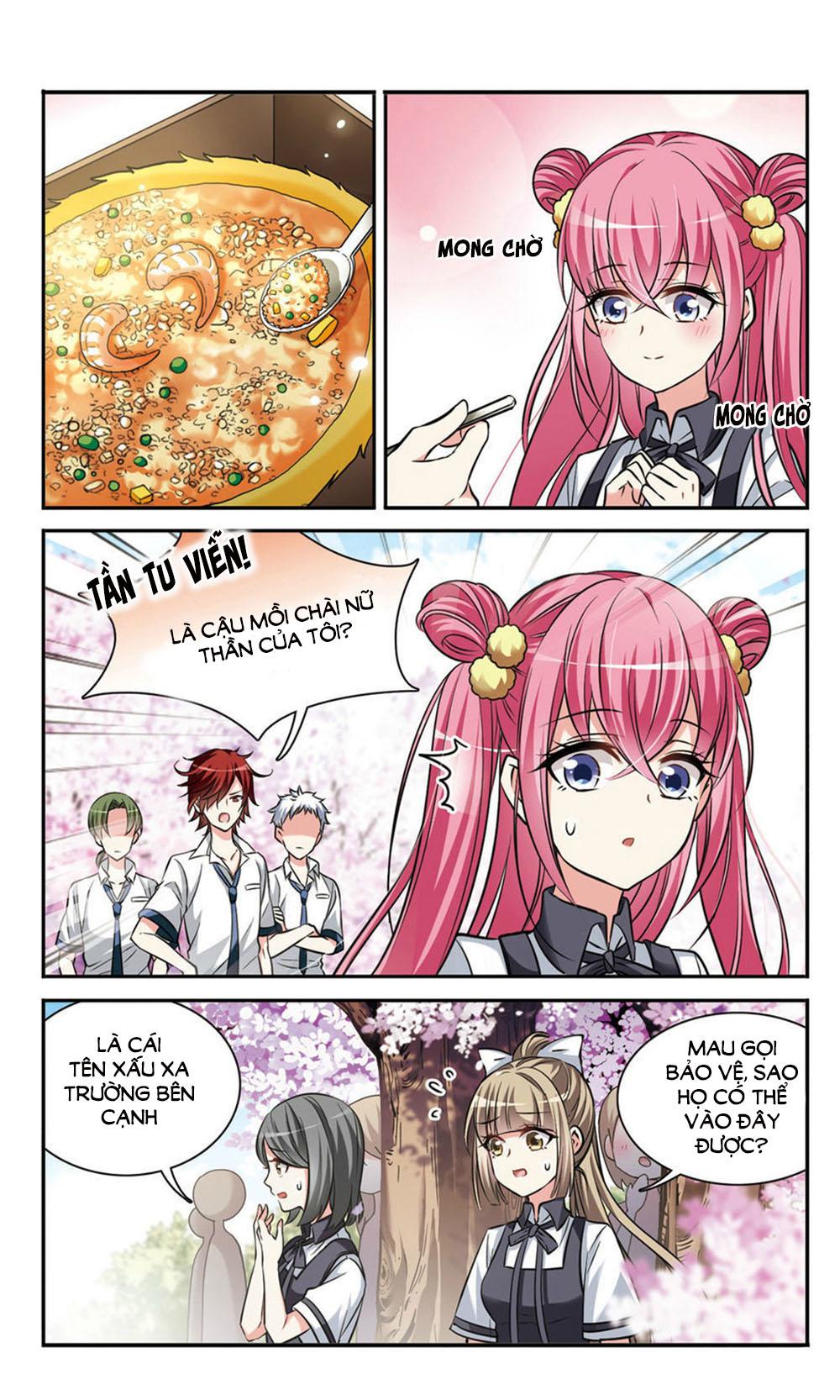 Cố Lên! Cô Đầu Bếp – Chap 7