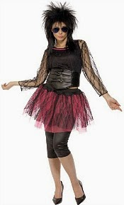 80s Pop Icon Costume for Women