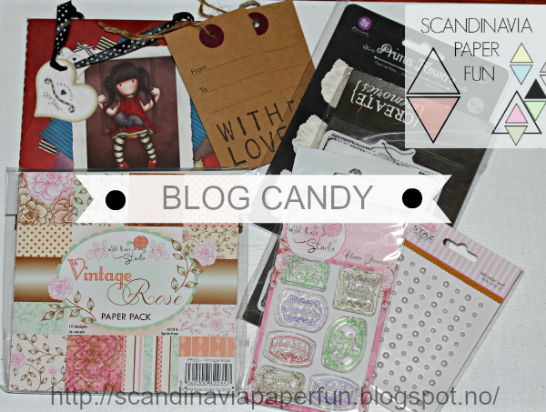 Blogg Candy hos Scandinavia Paper Fun