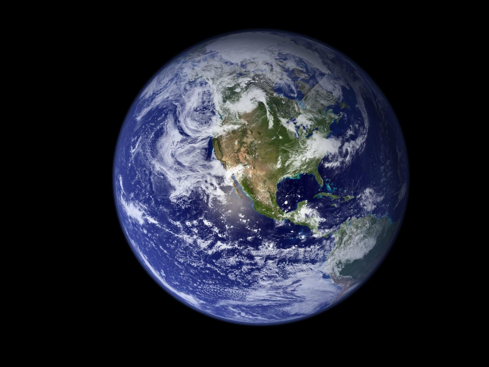 Як виглядає земля з космосу