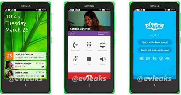 Nokia Android A110 Terbaru
