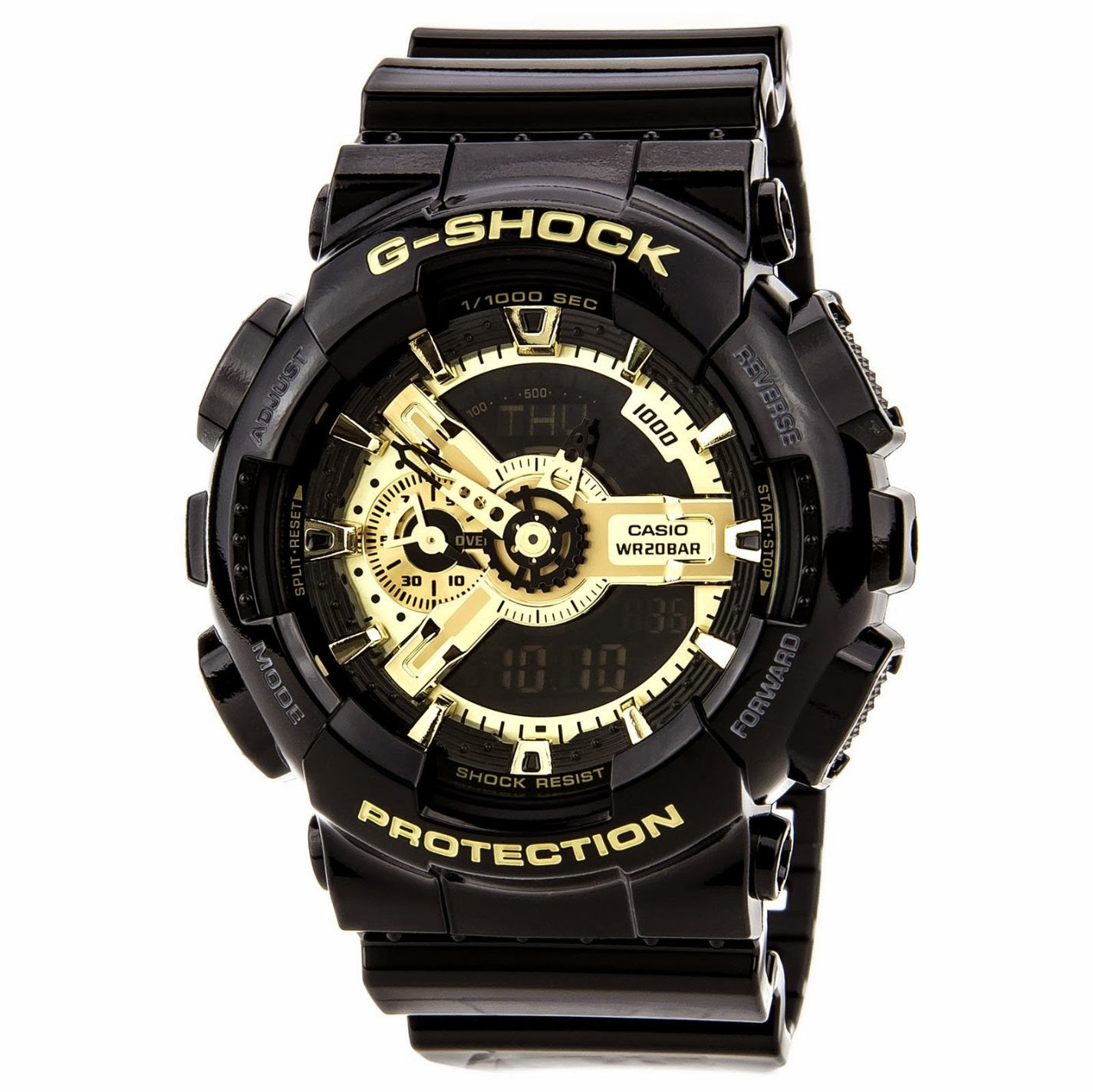 Casual best casio watch reviews g shock top black watches for men timepiece collection for Watches g shock