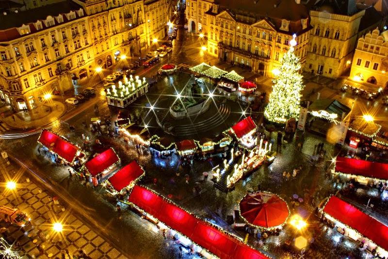 Mercado de Navidad en Praga