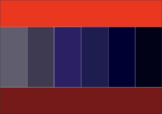 Как правильно сочетать цвета в одежде.