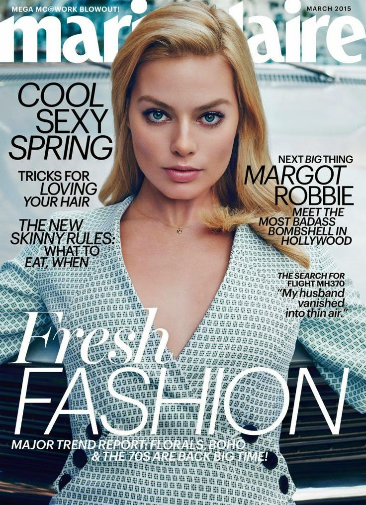 Actress: Margot Robbie for Marie Claire US