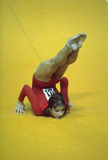 gimnasta Olga Kórbut