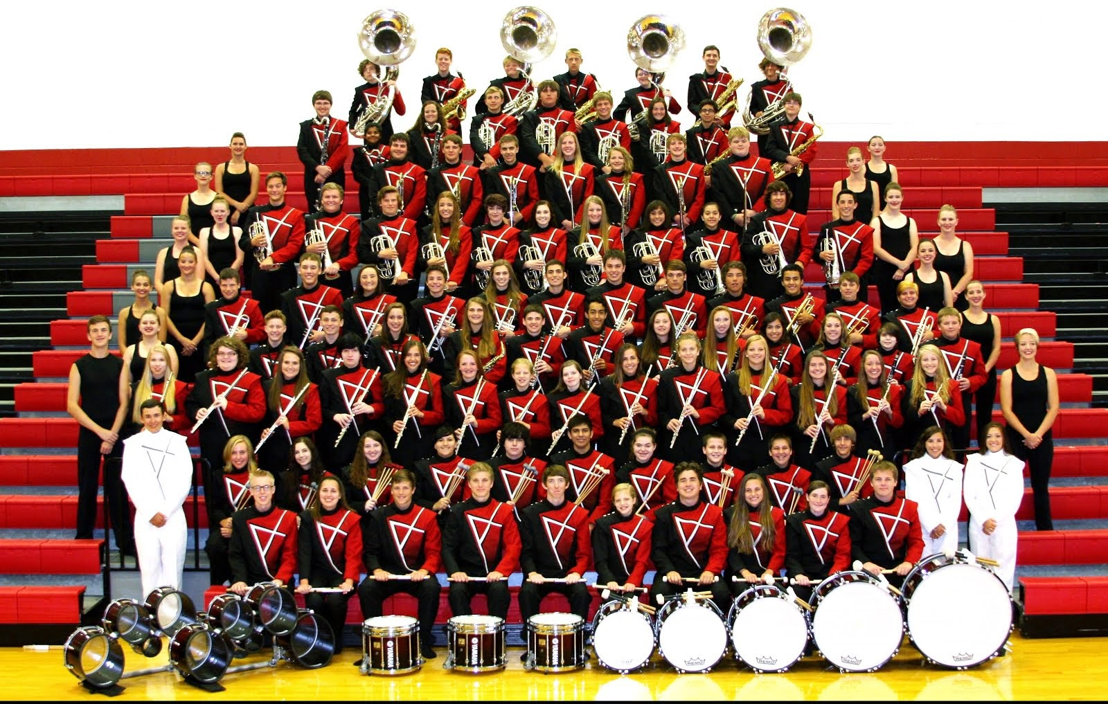 Argyle Eagle Marching Band 2014-15