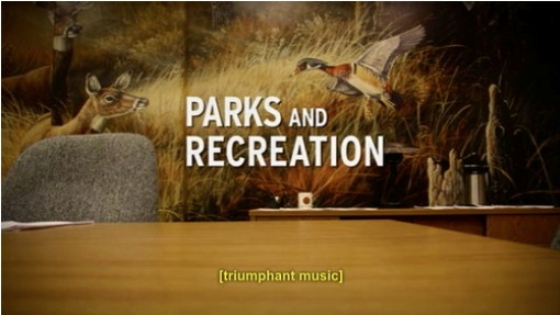 Parks and Recreation Triumphant Music Opening