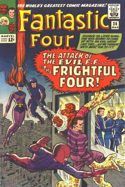 Fantastic Four #36, The Frightful Four