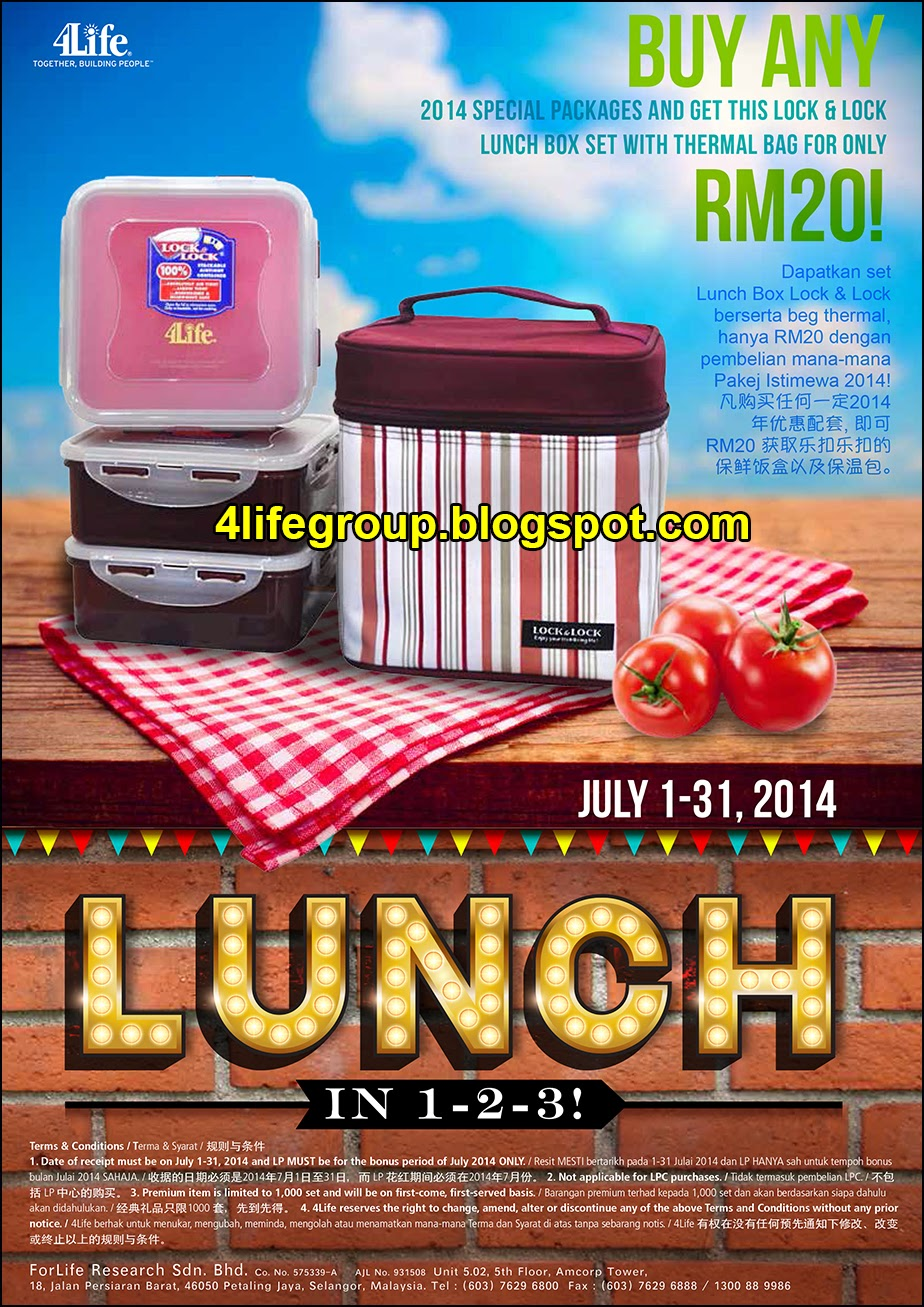 foto Lunch In 1-2-3 Promo