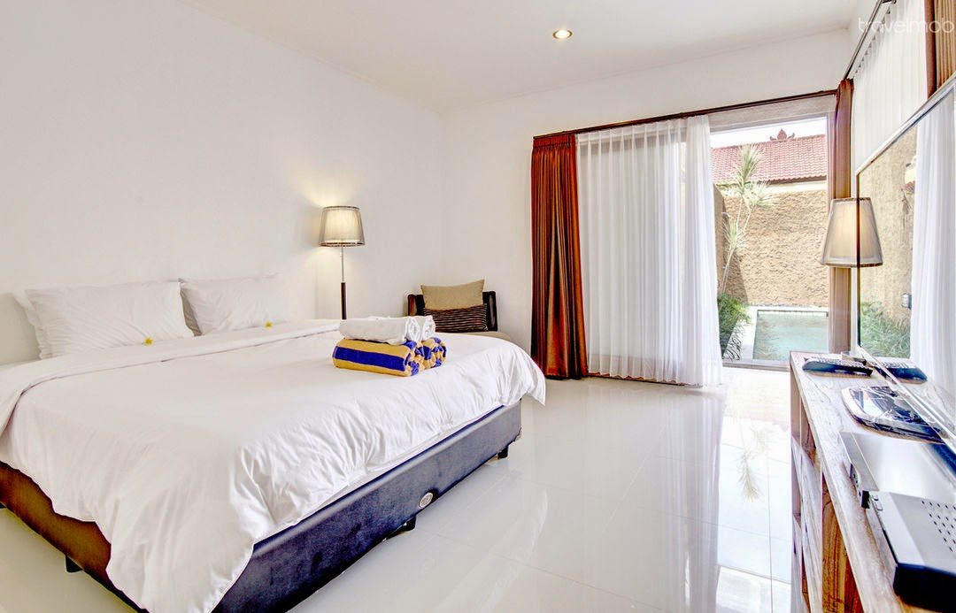 Brand New 2 Bedrooms Villa in Kuta -room