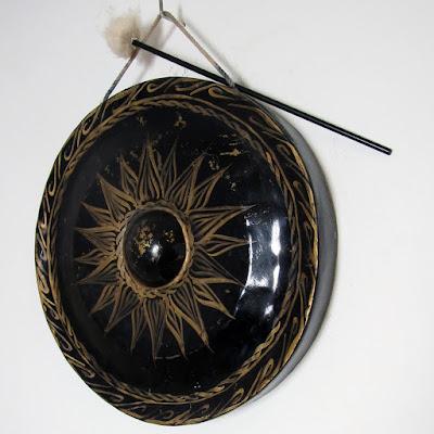 black Shambhala gong