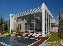 Modern Mediterranean House Exterior