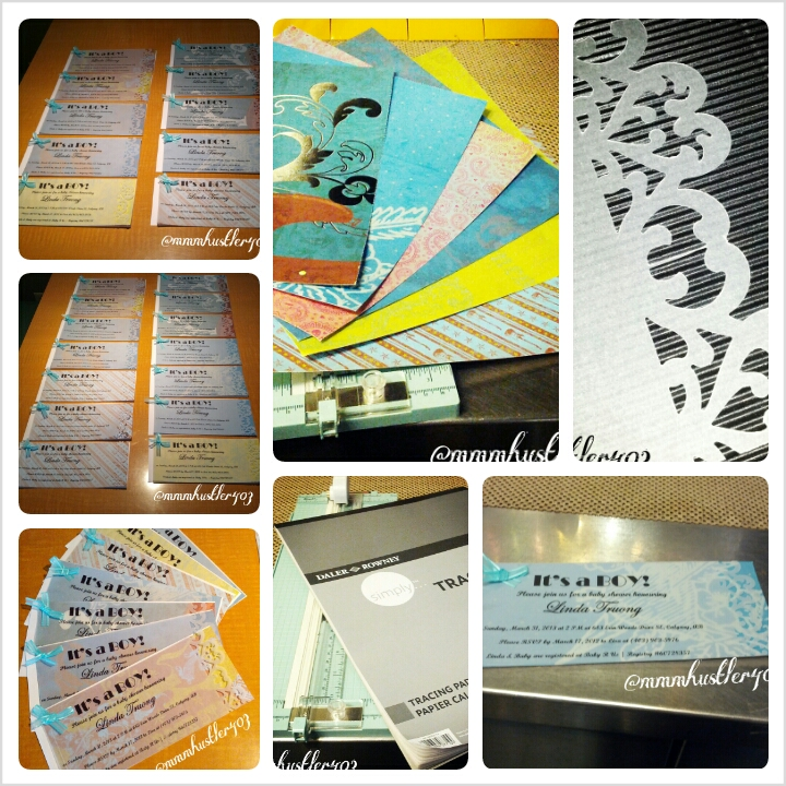 diy baby shower invitations for under 3
