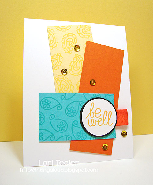 Be Well card-designed by Lori Tecler/Inking Aloud-stamps from Paper Smooches