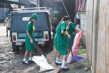 Clean up Operation ( Anti Dengue Awareness Week)