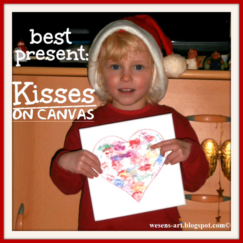 Kisses on Canvas wesens-art.blogspot.com