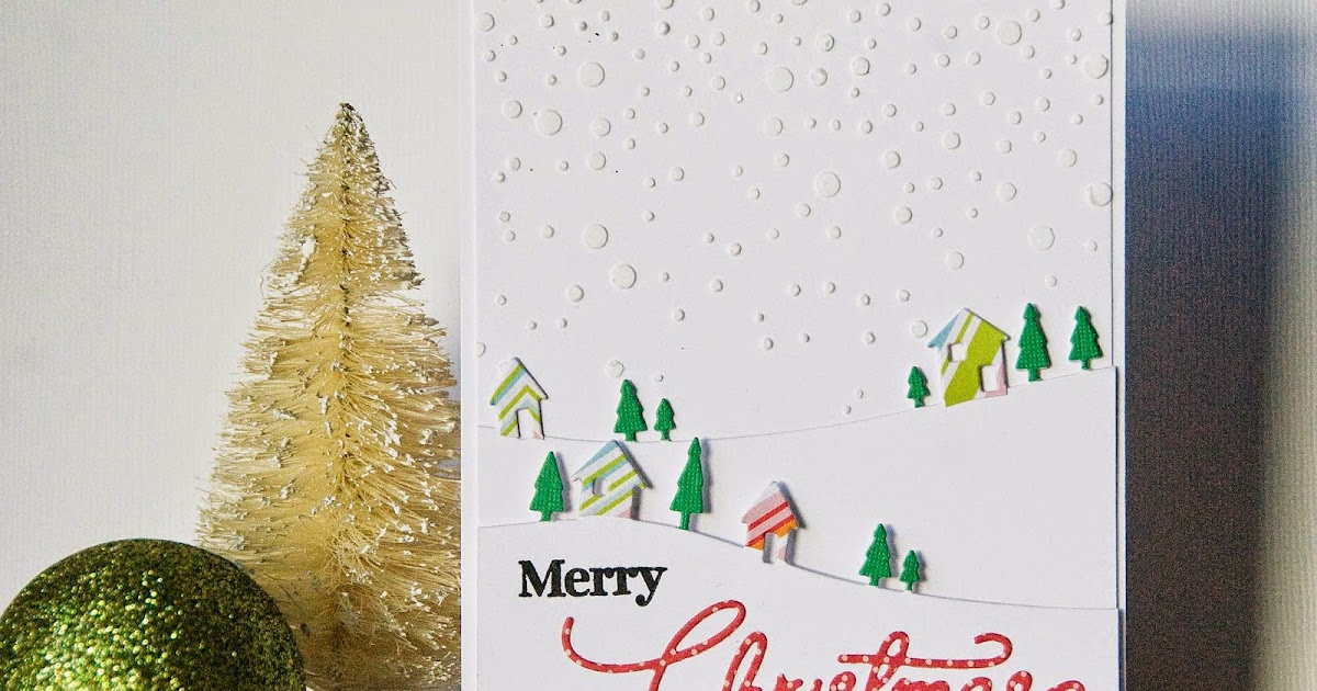 Dictionary's Creative Space: Merry Christmas- It's Snowing!