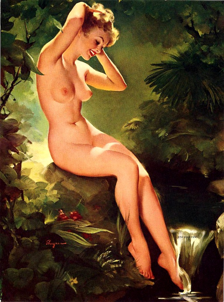Gil elvgren pin up girls nude
