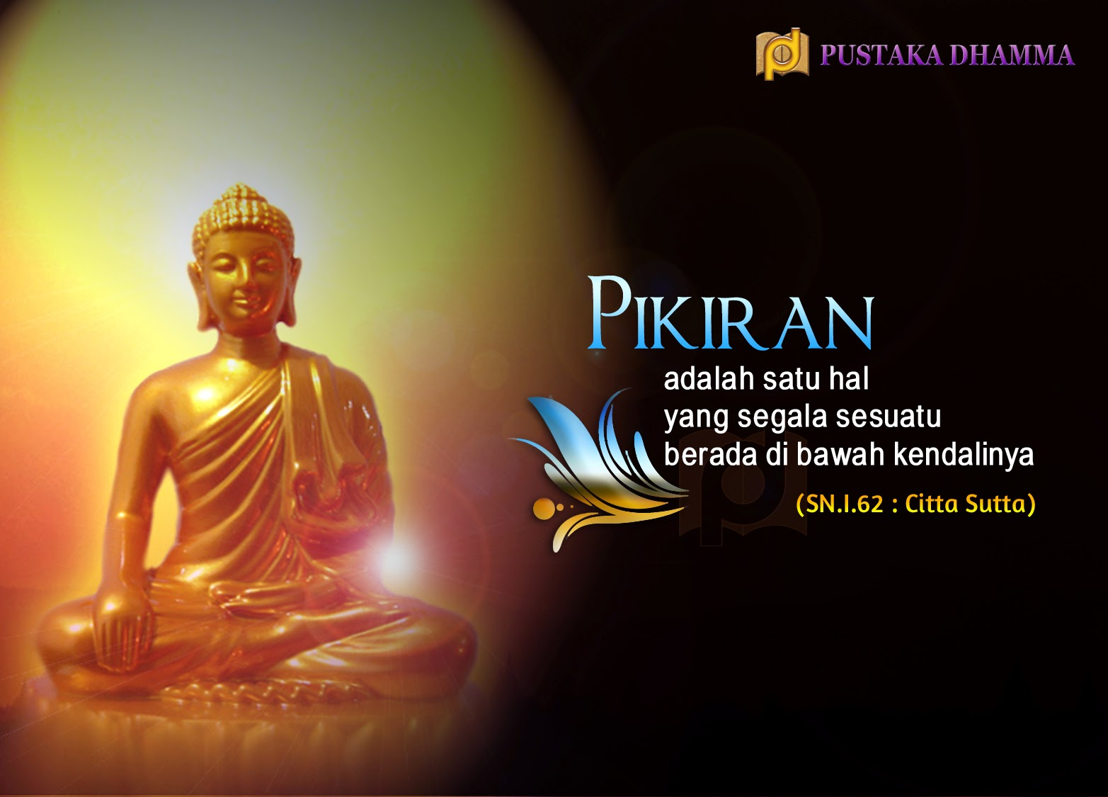 PUSTAKA DHAMMA Sabda Sang Buddha 67 Pikiran