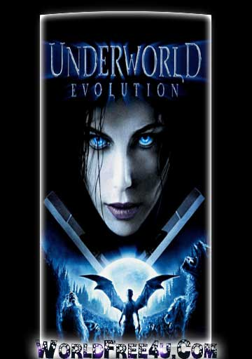 Poster Of Underworld Evolution (2006) In Hindi English Dual Audio 300MB Compressed Small Size Pc Movie Free Download Only At worldfree4u.com