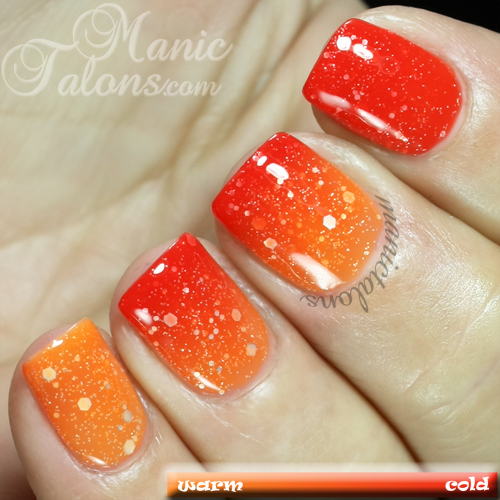 Madam Glam Chameleon Hot Hot Hot Swatch