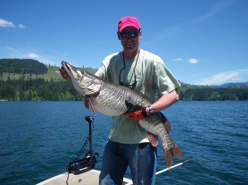 Forever fishing washington state state record tiger for Washington state fishing