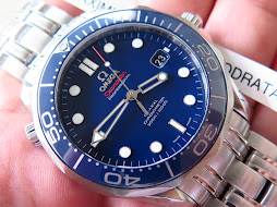 OMEGA SEAMASTER PROFESSIONAL CO AXIAL CHRONOMETER 300 METER BLUEDIAL CERAMIC BEZEL