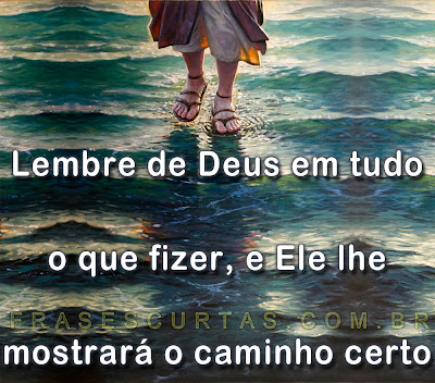 Jesus andando sobre a agua