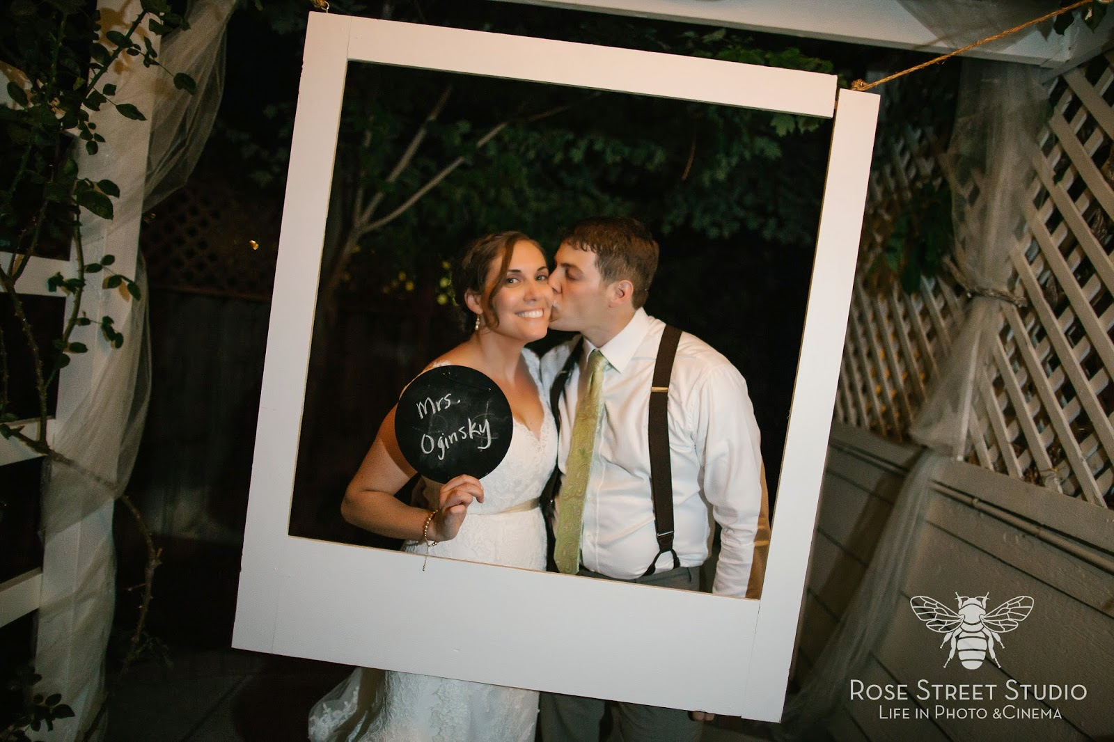 DIY Polaroid Wedding Photobooth l Take the Cake Event Planning