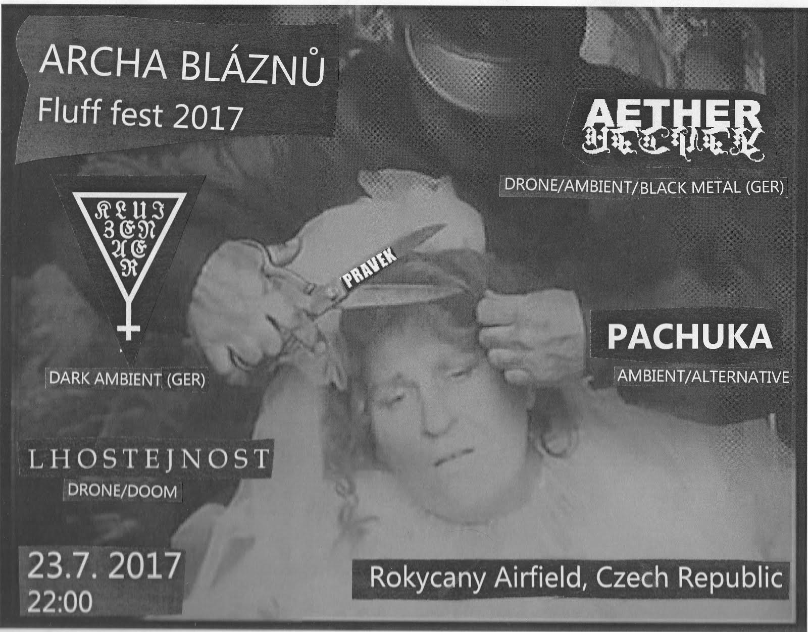 Archa Bláznů - Fluff fest stage