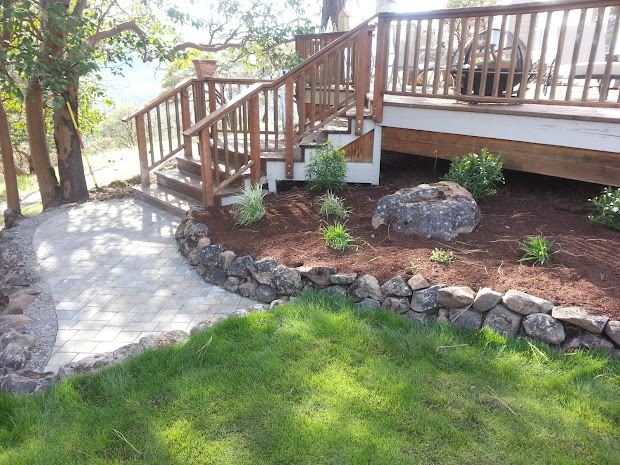hill top landscaping finished