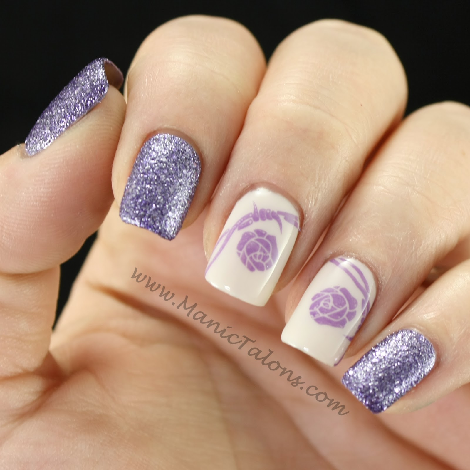 Manic Talons Nail Design Weekly Mani Stamping Challenge Your