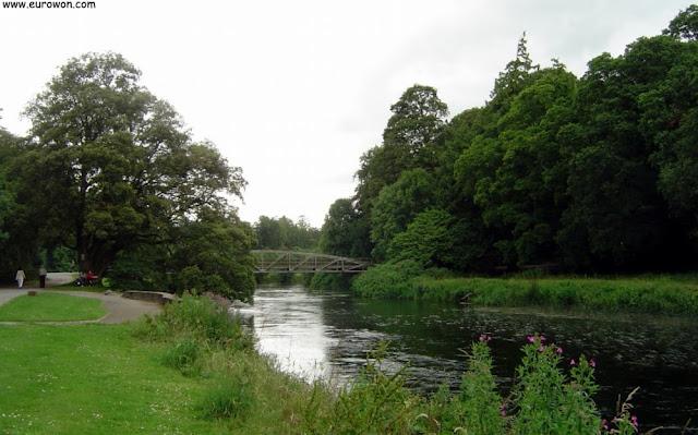 Río Suir cruzando el Parque de Cahir