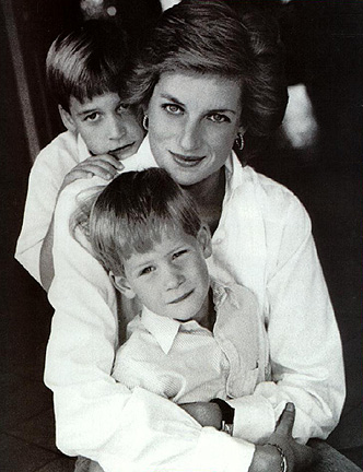 Prince+william+and+harry+as+kids