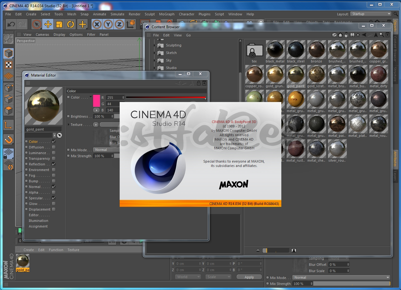 Cinema 4D Release 21