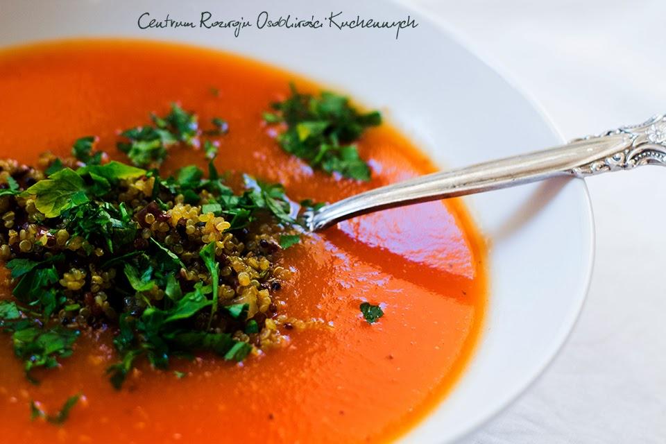 Zupa krem z pomidorów i