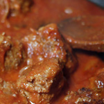 Boulette de viande à la sauce tomate (sur Saveurs d'Enfants)