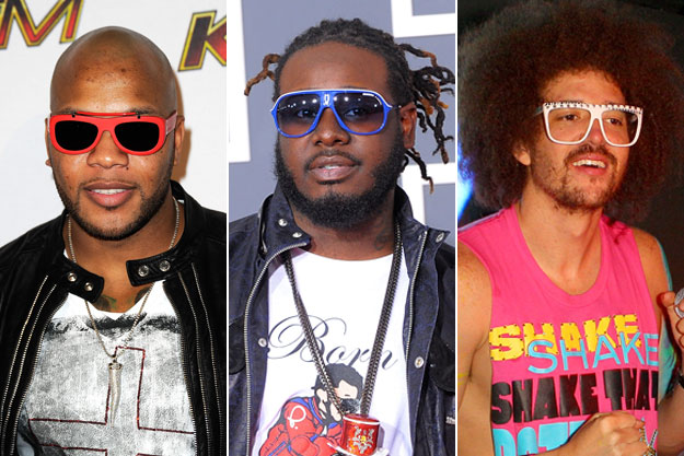Flo Rida feat. T-pain and Lmfao -  Run To You