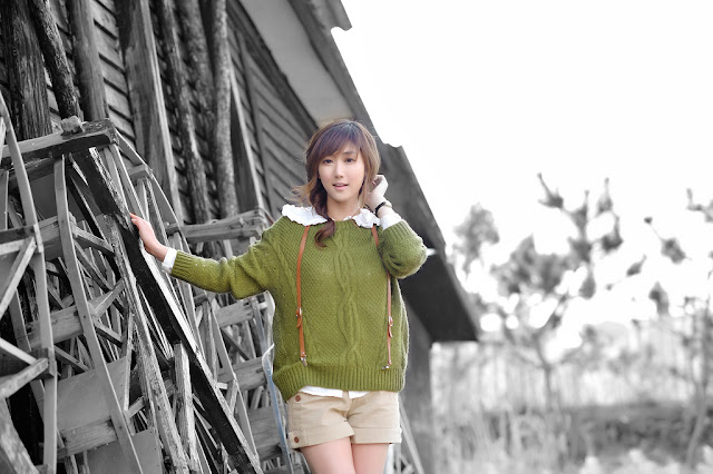 2 Nam Eun Ju - Lovely Outdoor-very cute asian girl-girlcute4u.blogspot.com