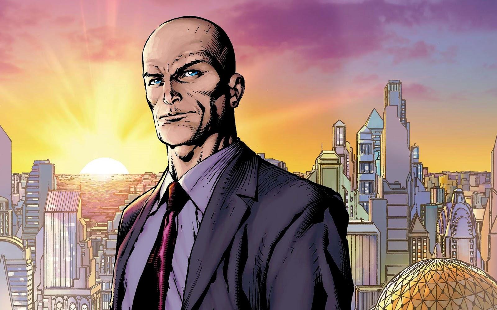 lex luthor en la serie: