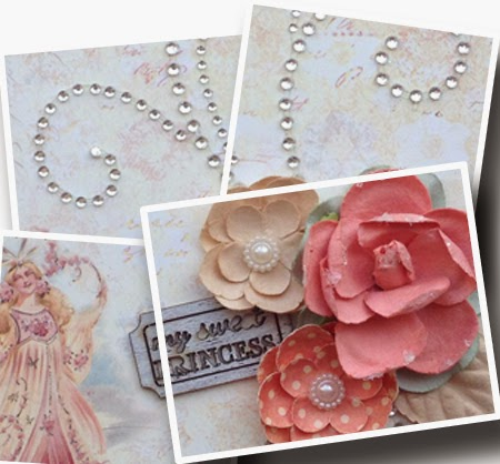Prima Princess 6x6 Mini Album for Scrapbook Maven