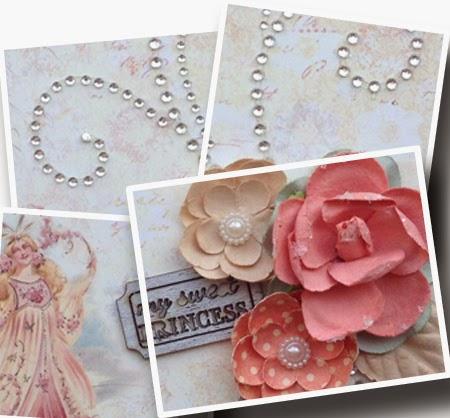 Prima Princess 6x6 Mini Album for Scrapbook Maven