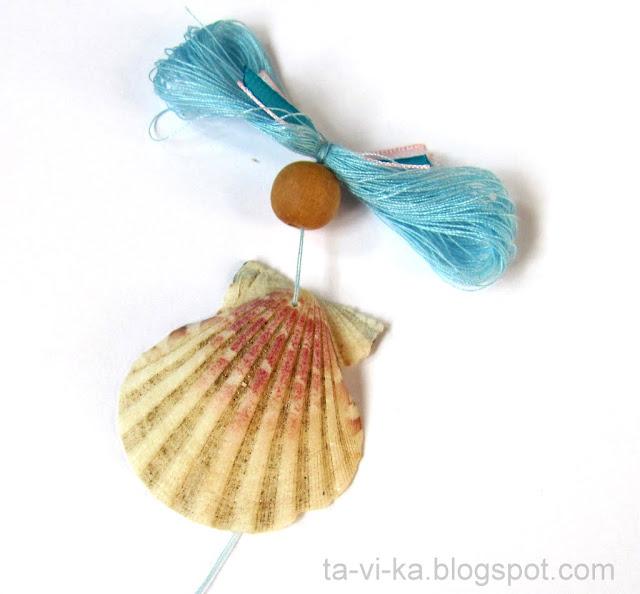 куклы из ракушек shells doll