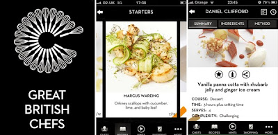 apliksai memasak untuk windows 8.1, Aplikasi Great British Chefs
