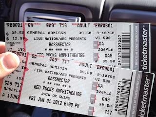concert ticket stub template .