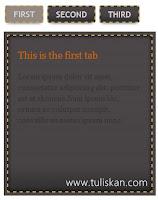 Cara Membuat Tab View Minimalis di Blog